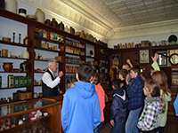 School Group in the General Store