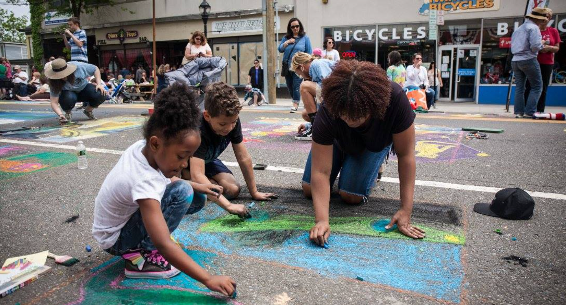 Community Mosaic Street Painting Festival