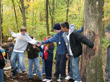 OUTDOOR SKILLS AND GROUP BUILDING
