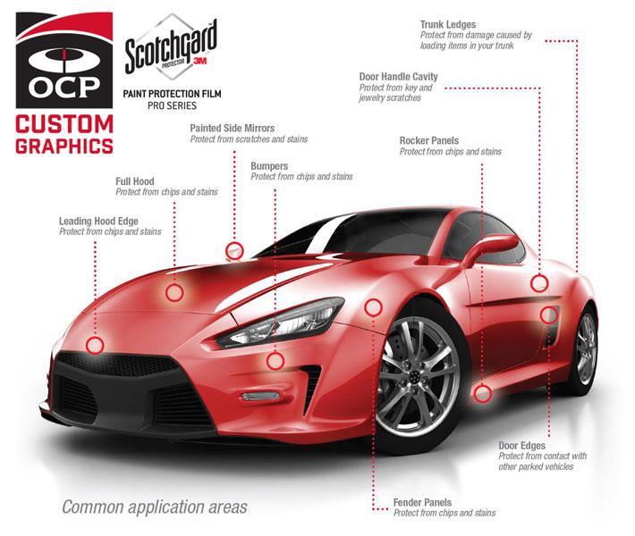 OCP Custom Graphics Vehicle Wraps