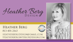 BUSINESS CARD DESIGN & PRINTING - Heather Berg Design