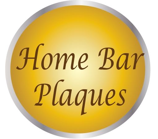 "YP-4000 - Carved  Plaques for Home Bars , Wine Cellars and ""Man Caves"""