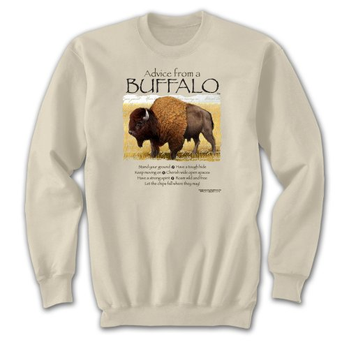 Sweatshirt - Advice from a Buffalo