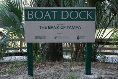 Boat Ramp Sign