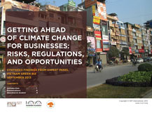 Getting Ahead of Climate Change for Businesses: Risks, Regulations, and Opportunities