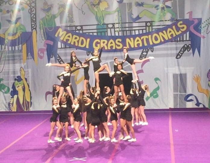 Competition Cheerleading team takes National Championship!