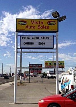 Vista Auto Sales