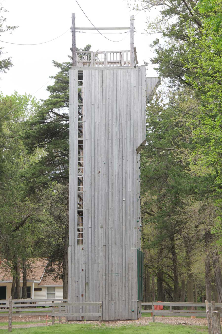 42' Climbing Wall