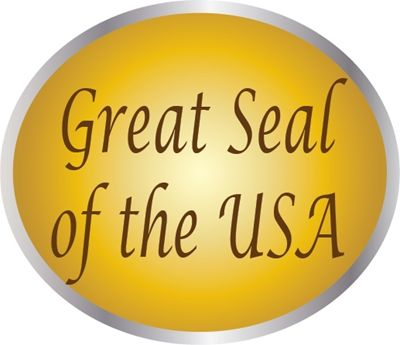 AP-1000 - Carved Plaques of the Great Seal of the United States