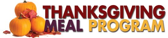 Be a part of our Thanksgiving Meal Program!