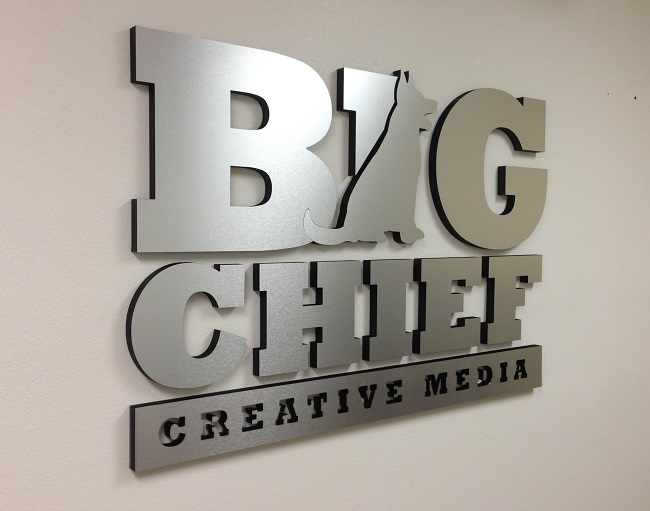 Office Lobby Signs Custom 3d Logo Wall Signs Irvine Ca