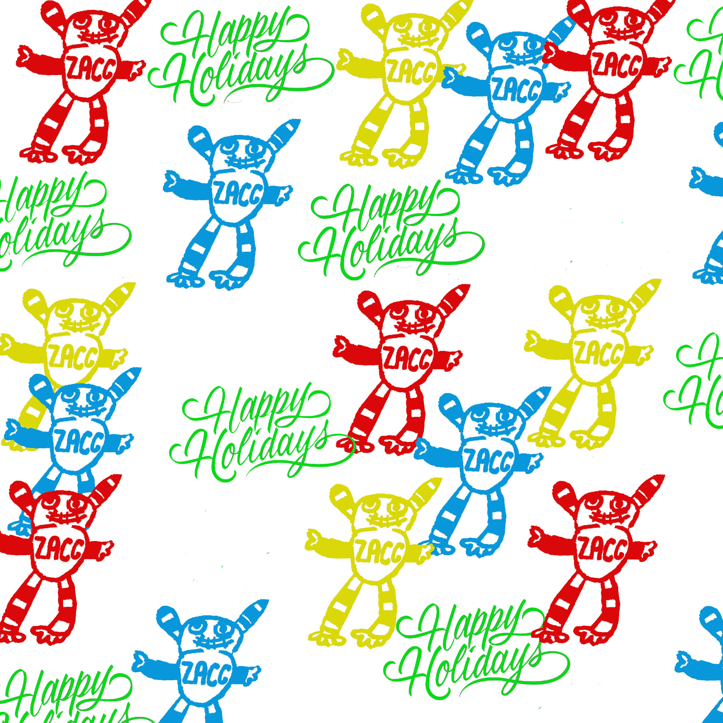 Holiday Class: Printmaking - Gift Wrap & Tags
