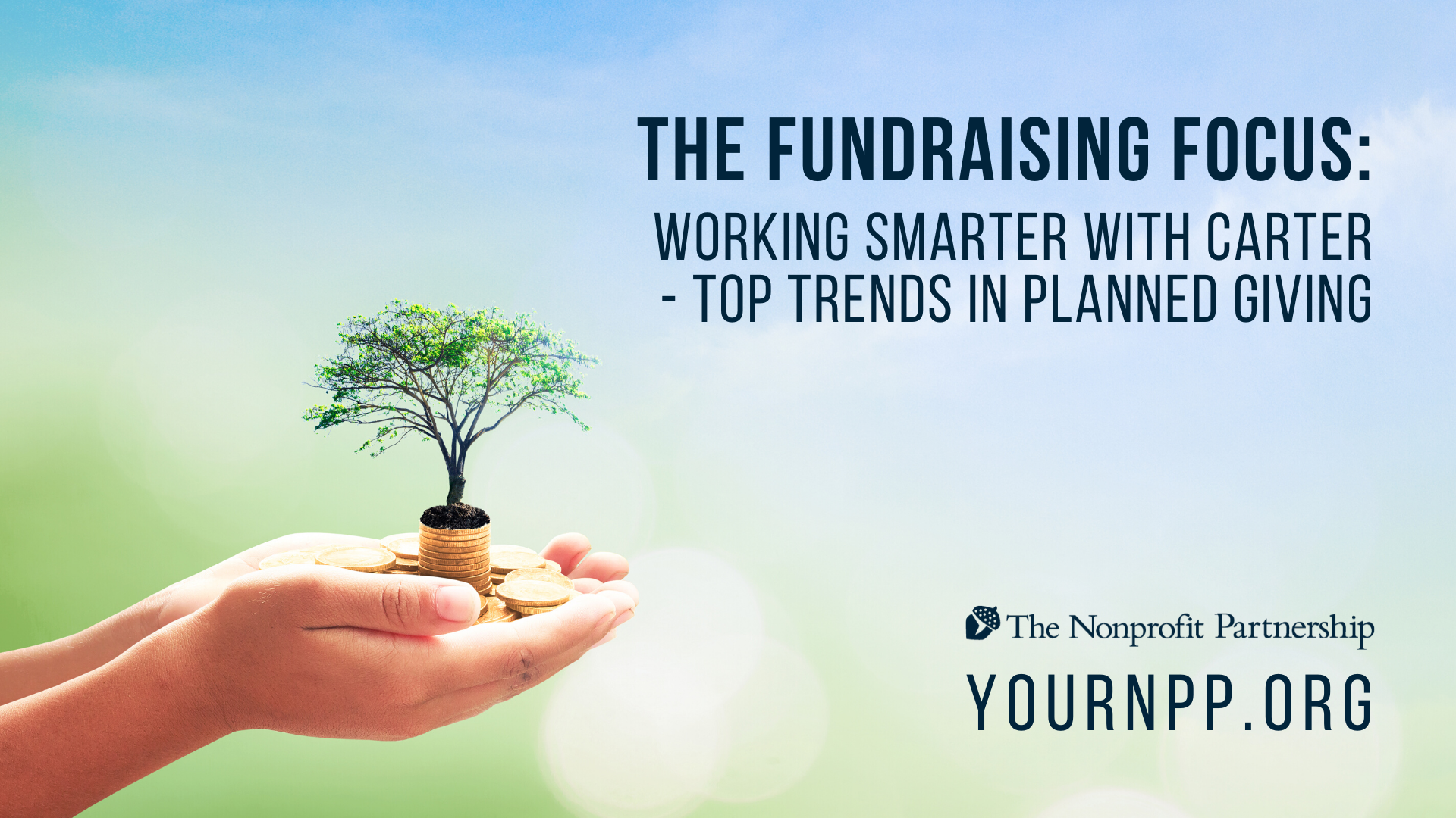 The Fundraising Focus: Working Smarter with Carter - Top Trends in Planned Giving