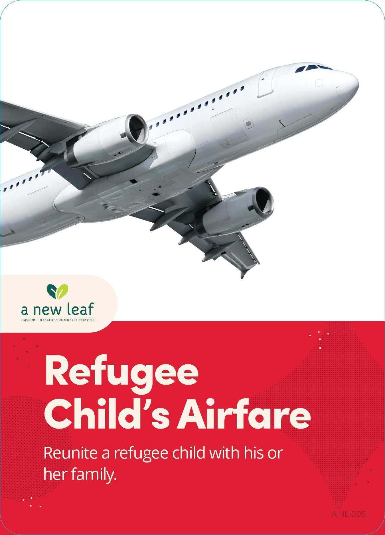$100 - Reunite a Refugee Child with Family