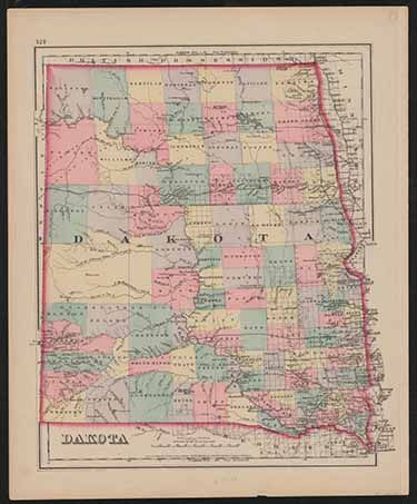 State Historical Society makes historic maps available on South Dakota Digital Archives