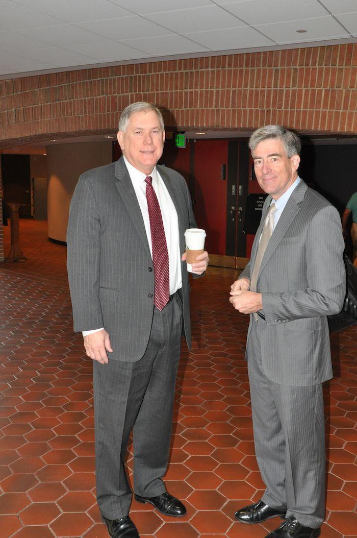 Rick Ledgett with Chris Inglis