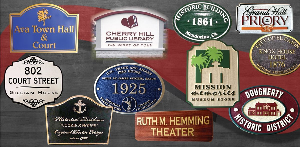 Museum and Historical Building Signs
