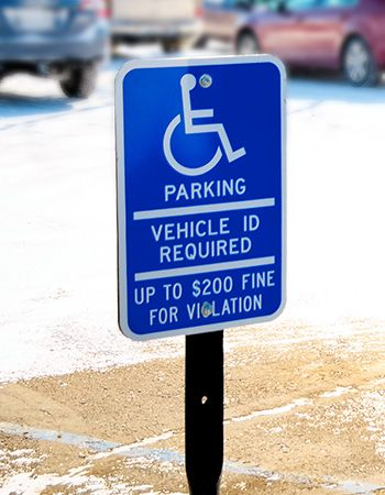 ADA Compliant Signage (Handicap and Braille Signs)