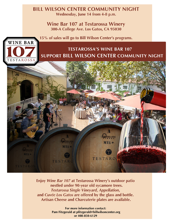 BWC Community Night at Testarossa Winery