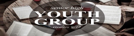 Sr High Youth Group