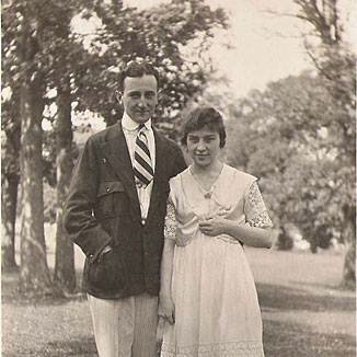 1917: William Friedman & Elizebeth Smith married.
