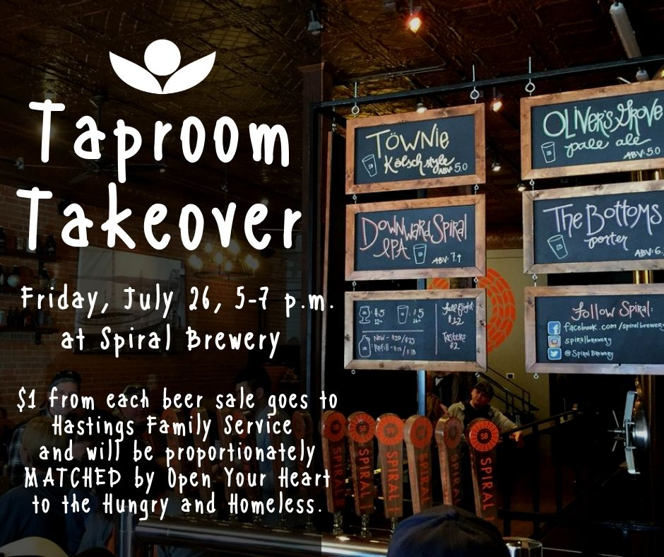 Taproom Takeover at Spiral Brewery