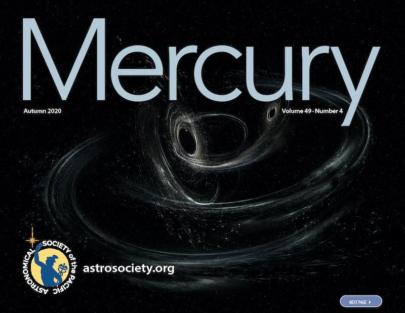 The Autumn 2020 issue of Mercury is LIVE