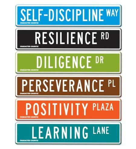 Street Signs - Life Skills Set