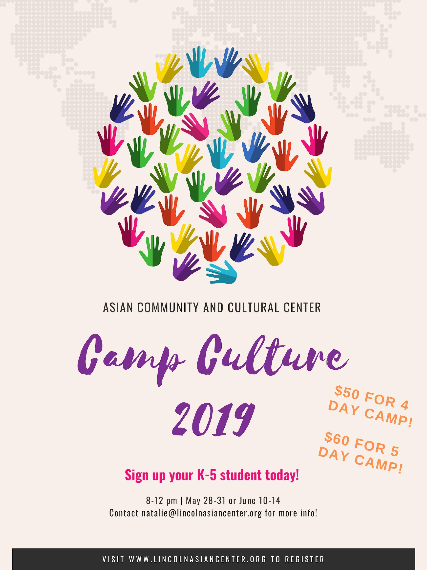 Camp Culture 2019