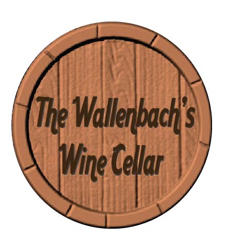 R27391 - Personalized Carved Wood  Wine Barrel Sign