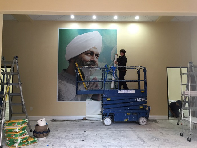 Wall murals for churches in Orange County