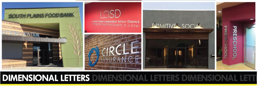 Dimensional Letters Spotlight