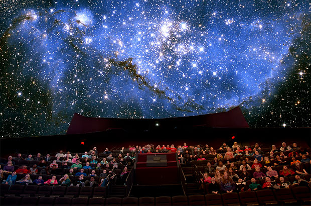 EXPERIENCE - Full Dome Theater - Live Astronomy Programs and Movies that surround you!