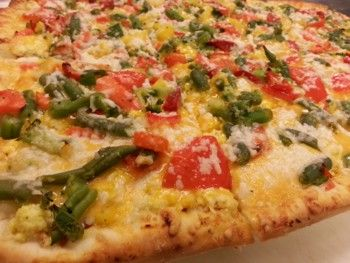 Innovative Hot Breakfast: Veggie Breakfast Pizza