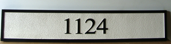 I18850 - Sandblasted HDU Address Number Sign