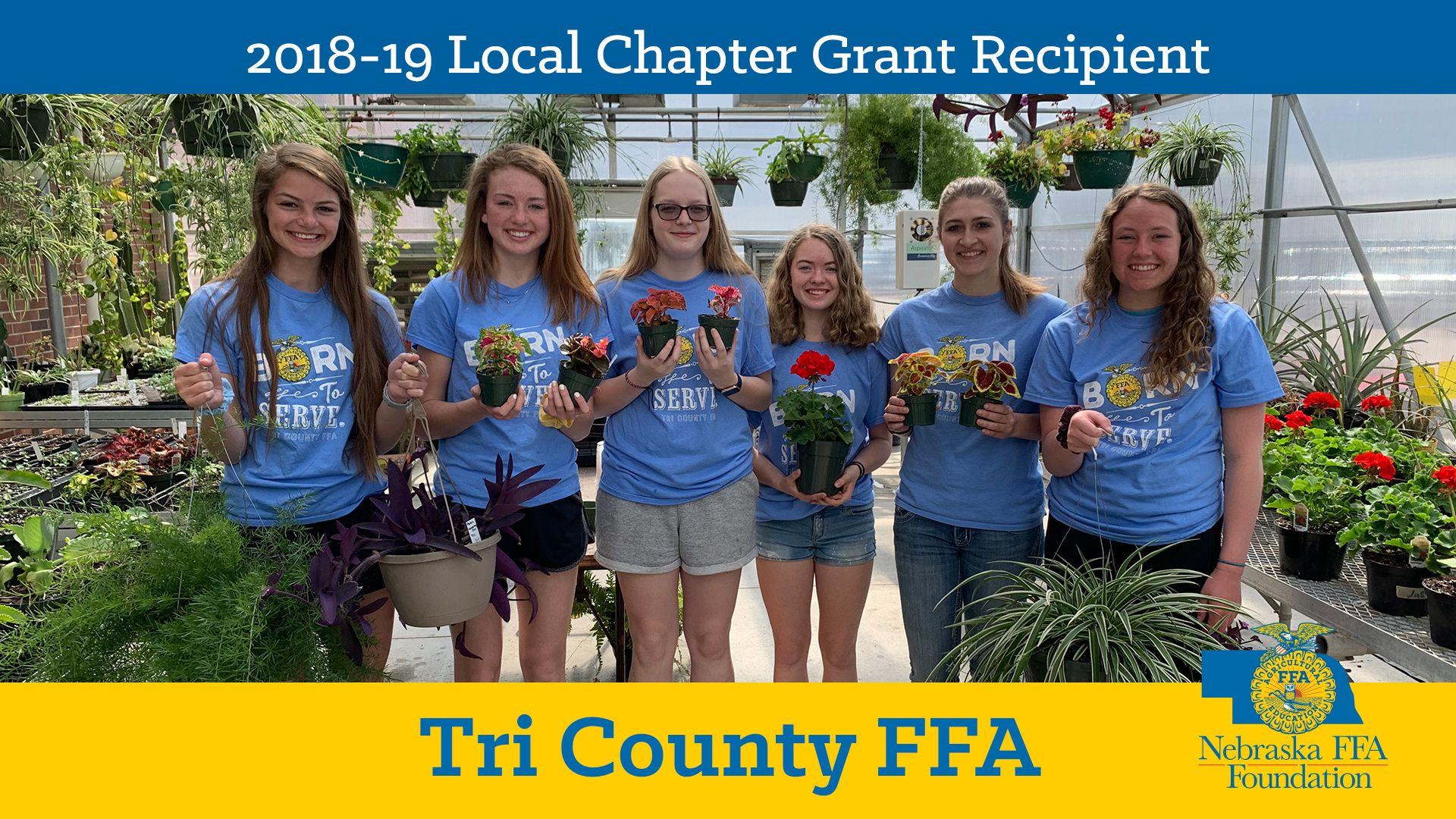2018 Local Chapter Grant Recipient: Tri County