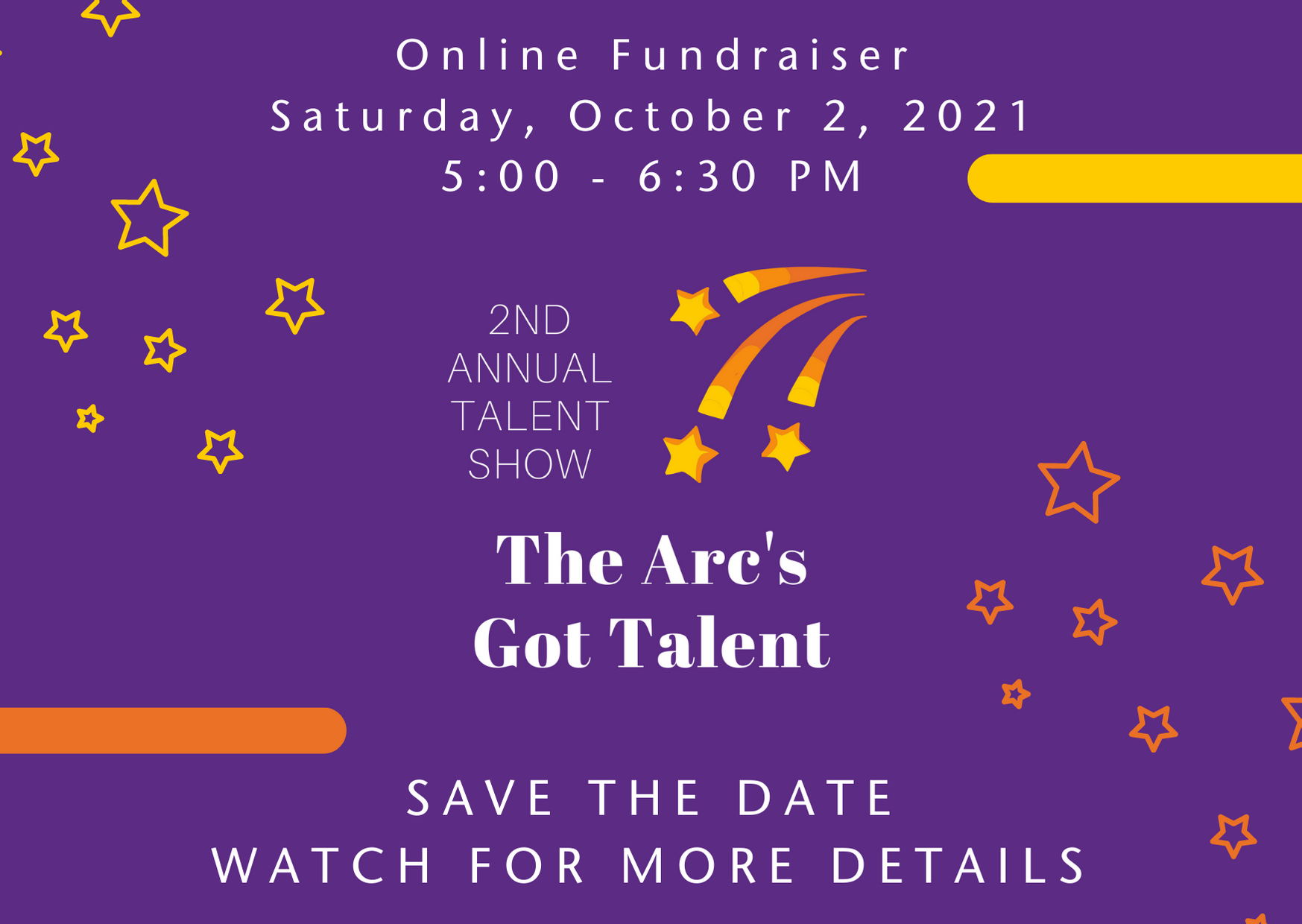 Recruiting The Arc's Got Talent Participants