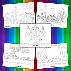 OCP Large Colouring Sheets