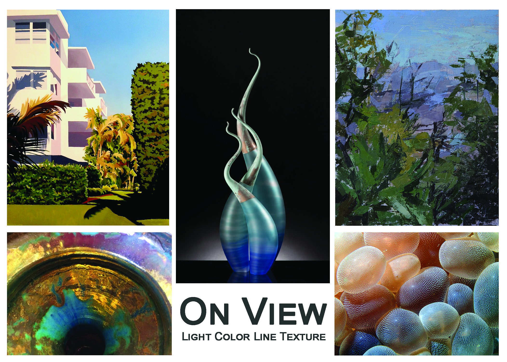 ON VIEW - Light Color Line Texture