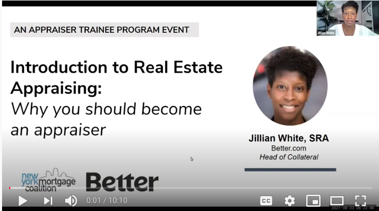 Click here to view the video prepared for the NYMC Orientation by Jillian White of Better.com.