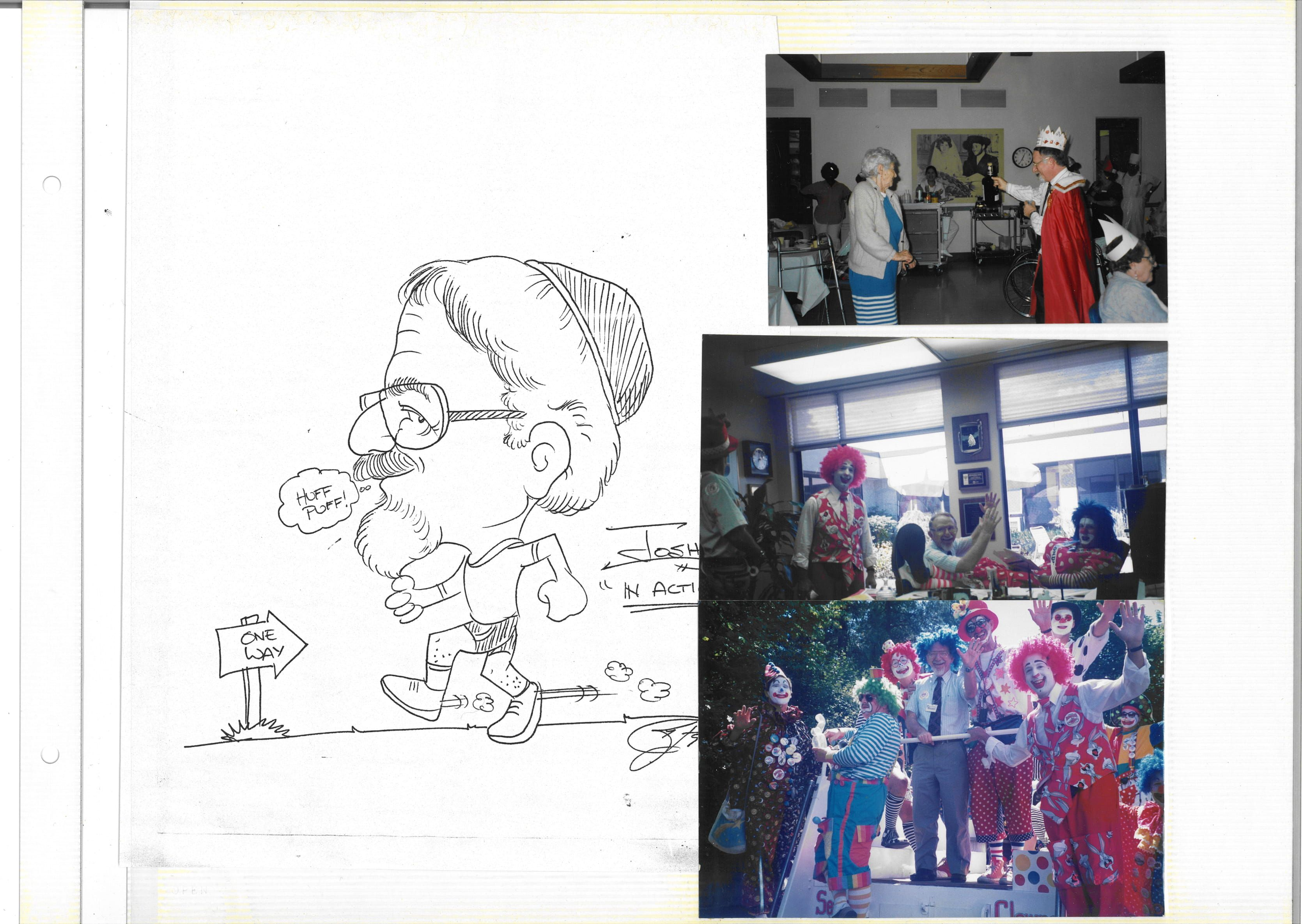 Sketch and photos from Seafair