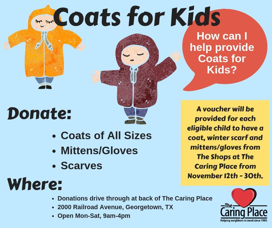 Coats Needed