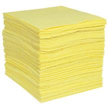A01AE125 Yellow HazMat COMMANDER FineFiber Pad-Heavy Weight