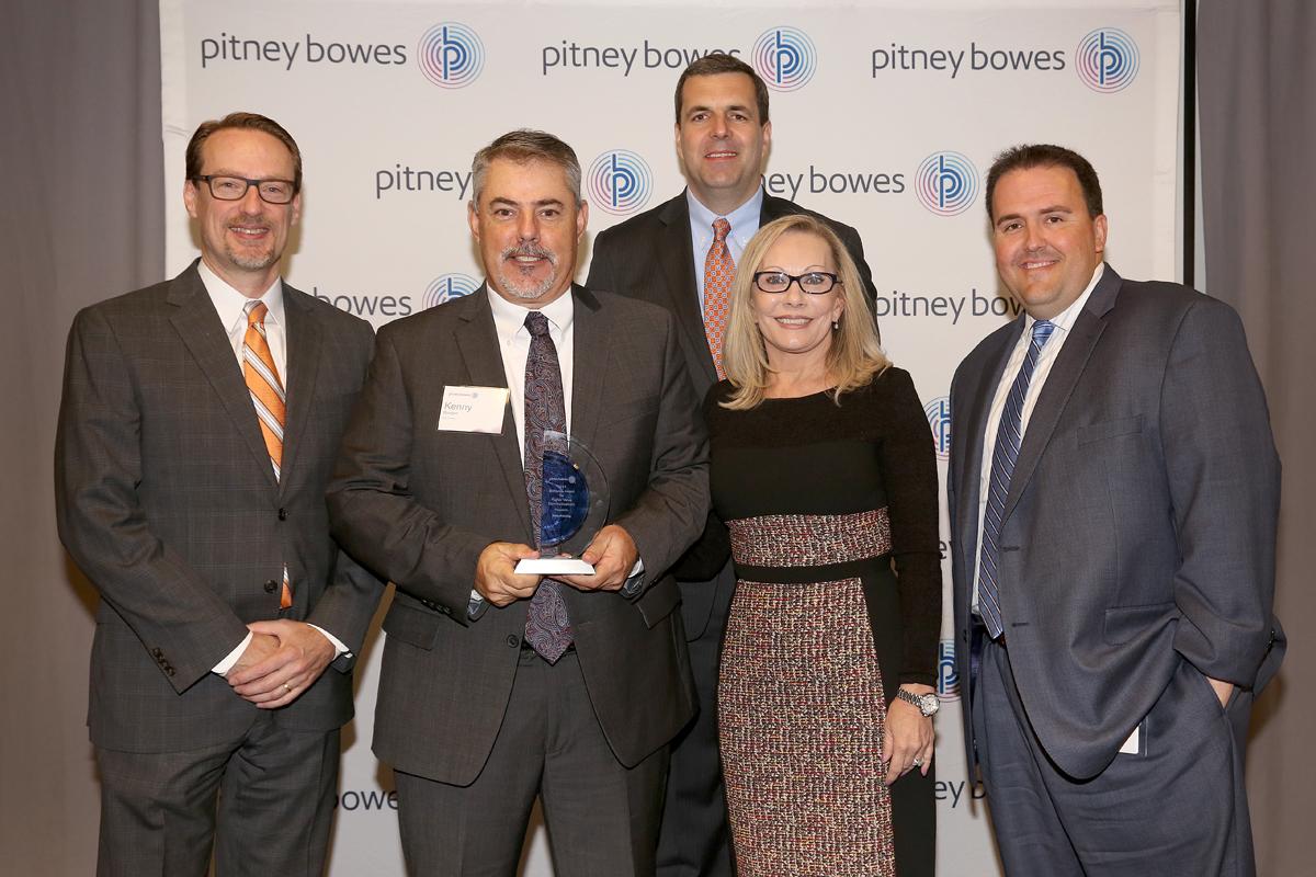 Mele Printing wins Pitney Bowes 2017 Brilliance Award