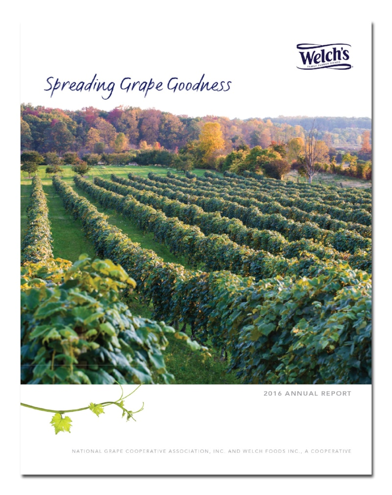 Welch's Annual Report