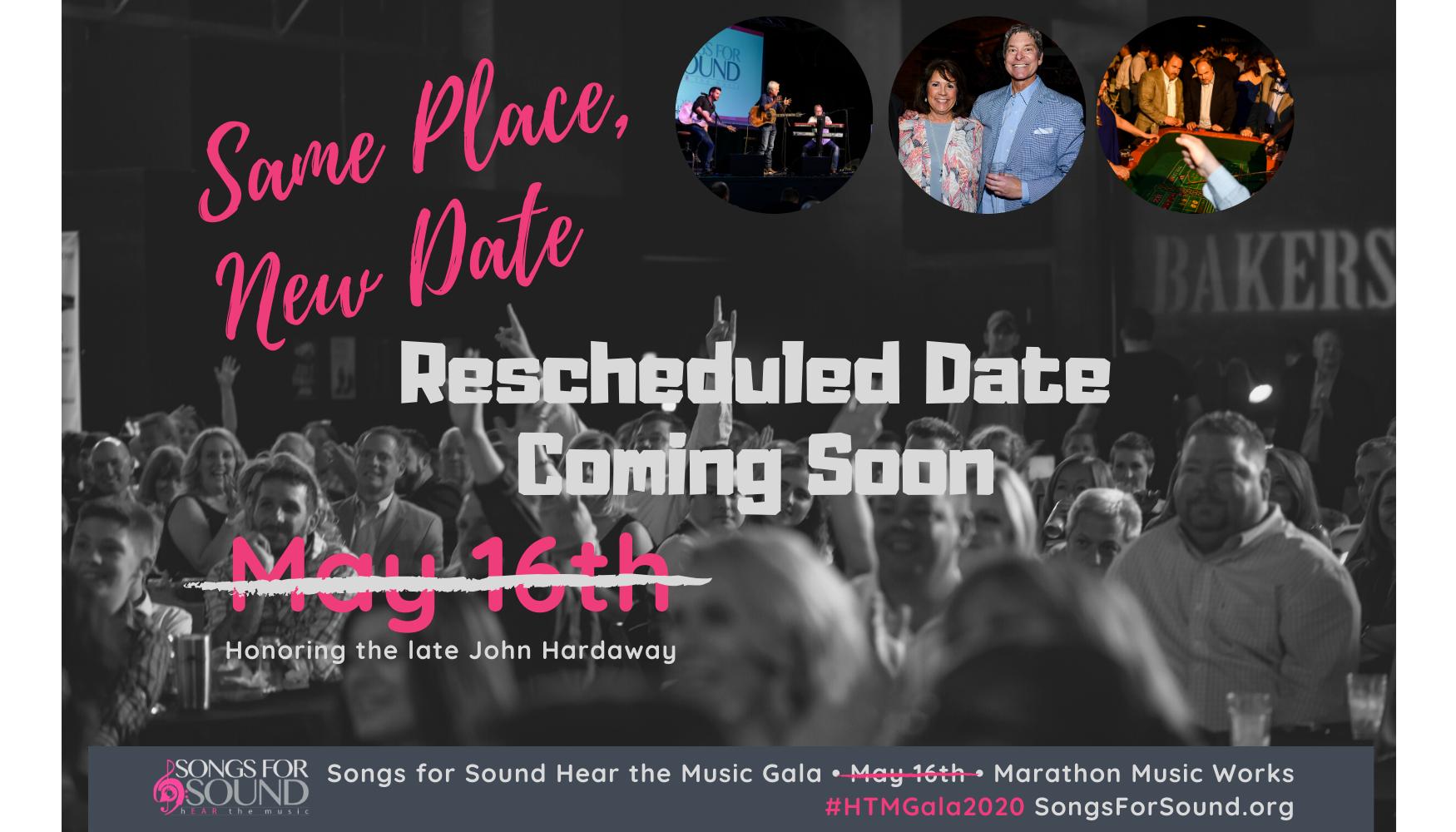 Hear the Music Gala 2020 - Date Coming Soon!