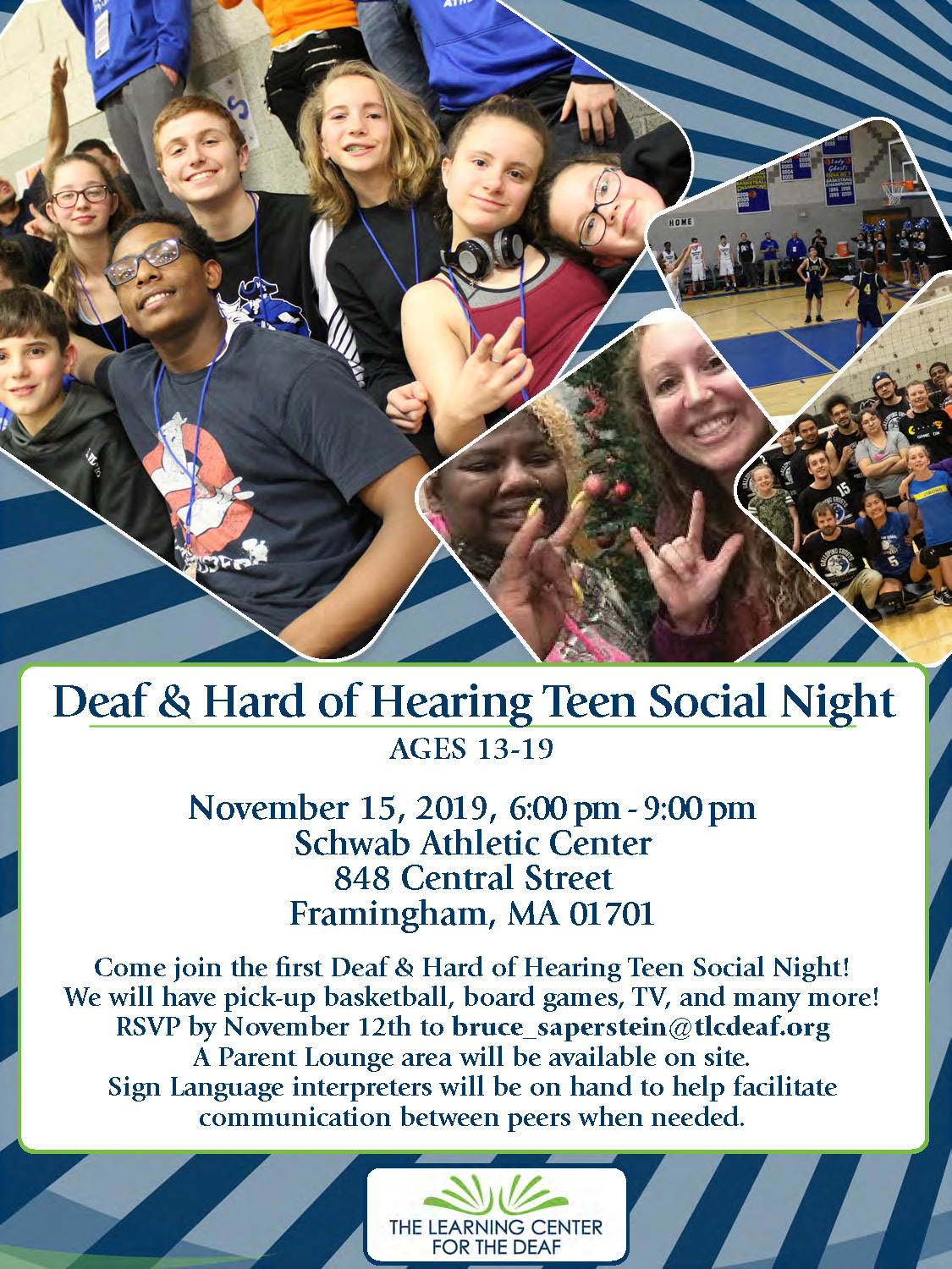 Teen Deaf and Hard of Hearing Night