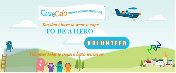 Volunteer-Give Gab