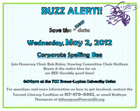 Spelling Bee set for May 2nd!