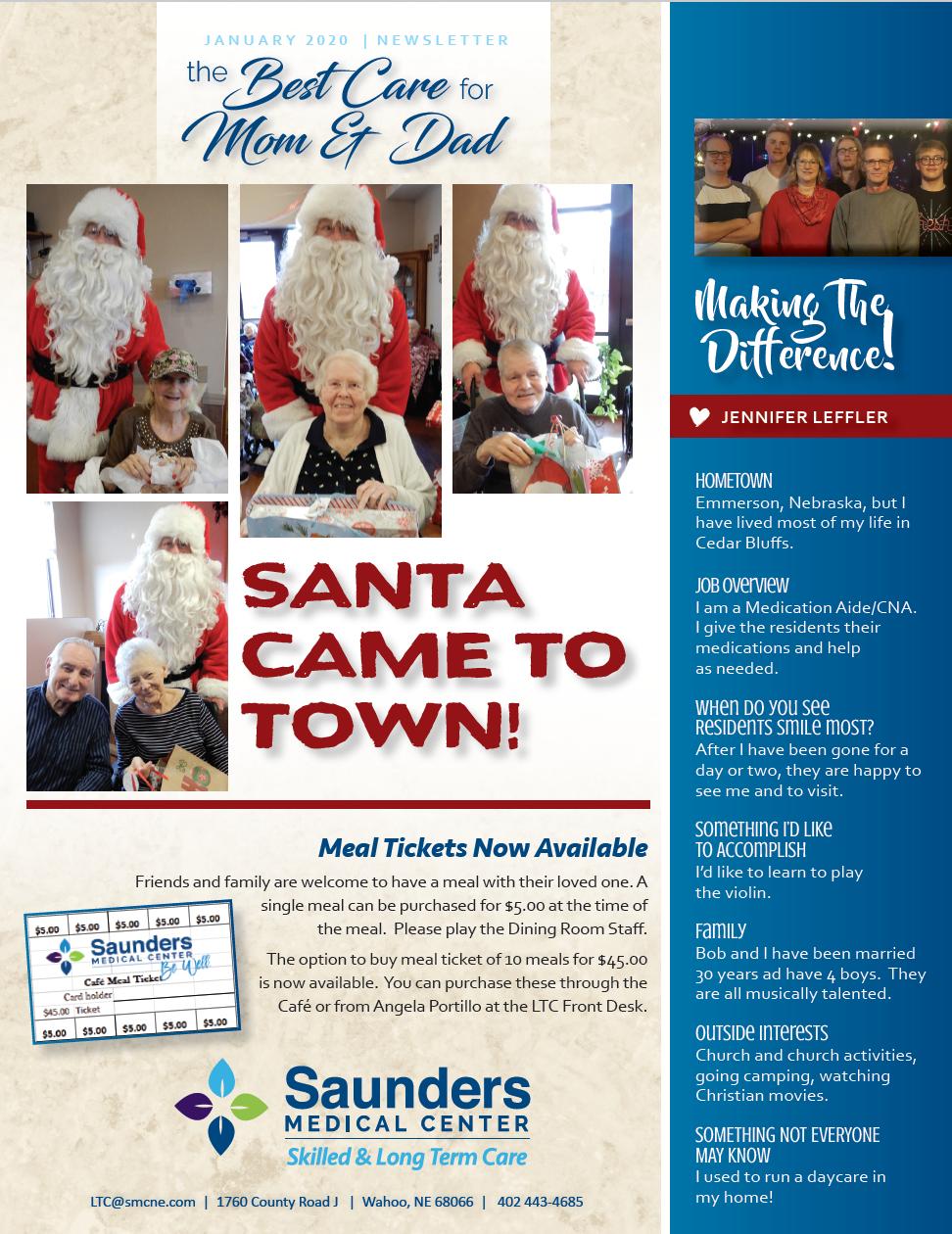 January Nursing Home Newsletter Released